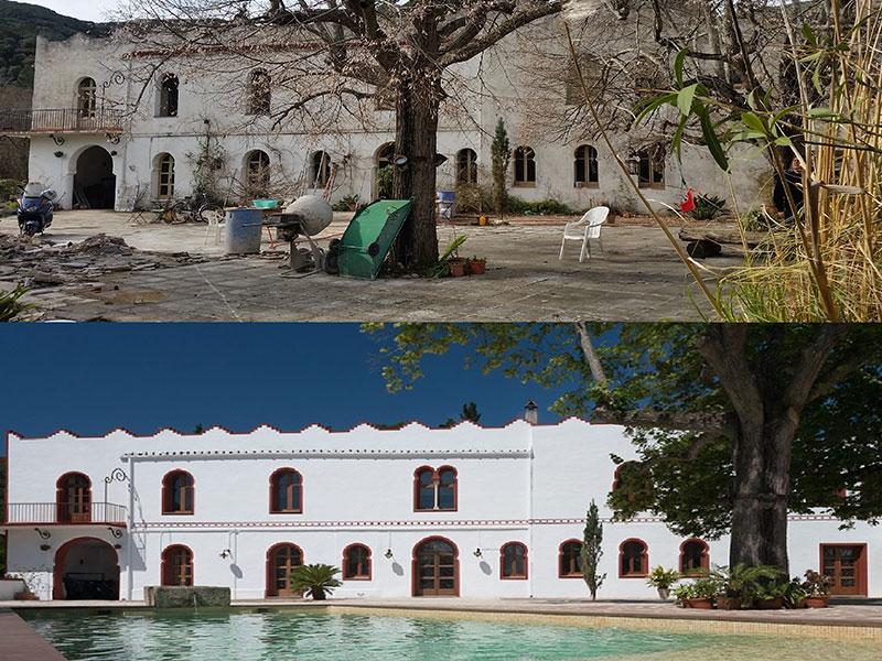 reconstrucción villa cortijo